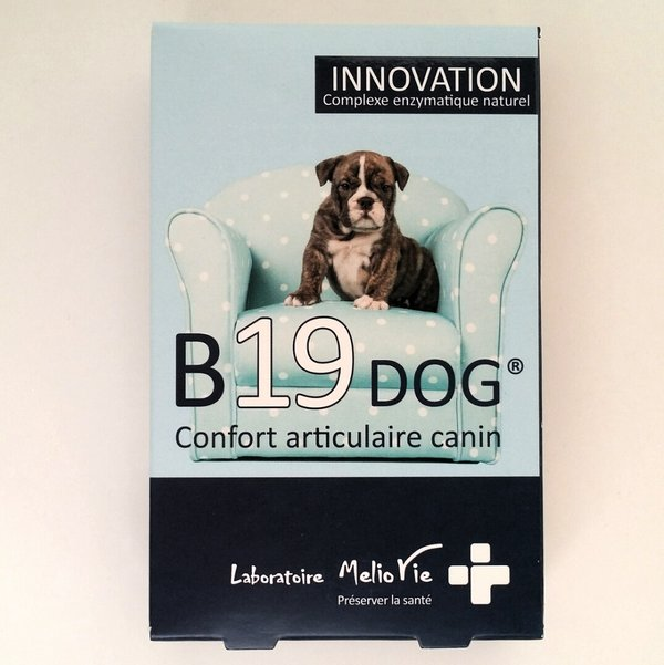 B19 DOG Confort articulaire canin (30 caps)